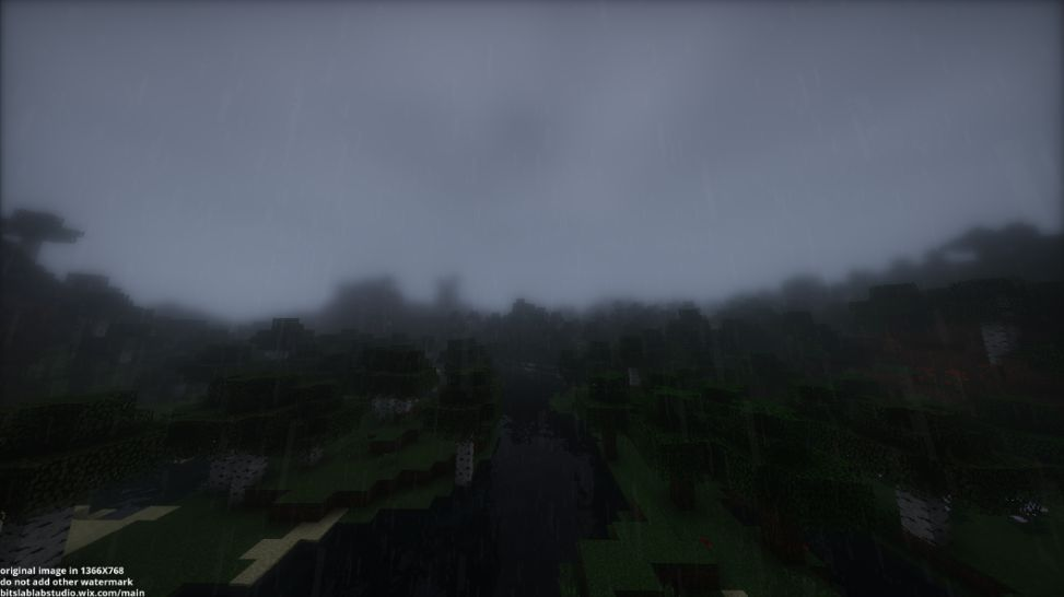 bsl-shaders-lloviendo