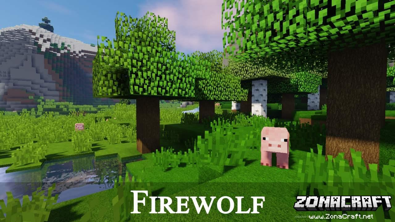 Firewolf Texture Pack Para Minecraft 1.14.2/1.13.2/1.12.2/1.11.2/1.10.2/1.9.4 | ZonaCraft