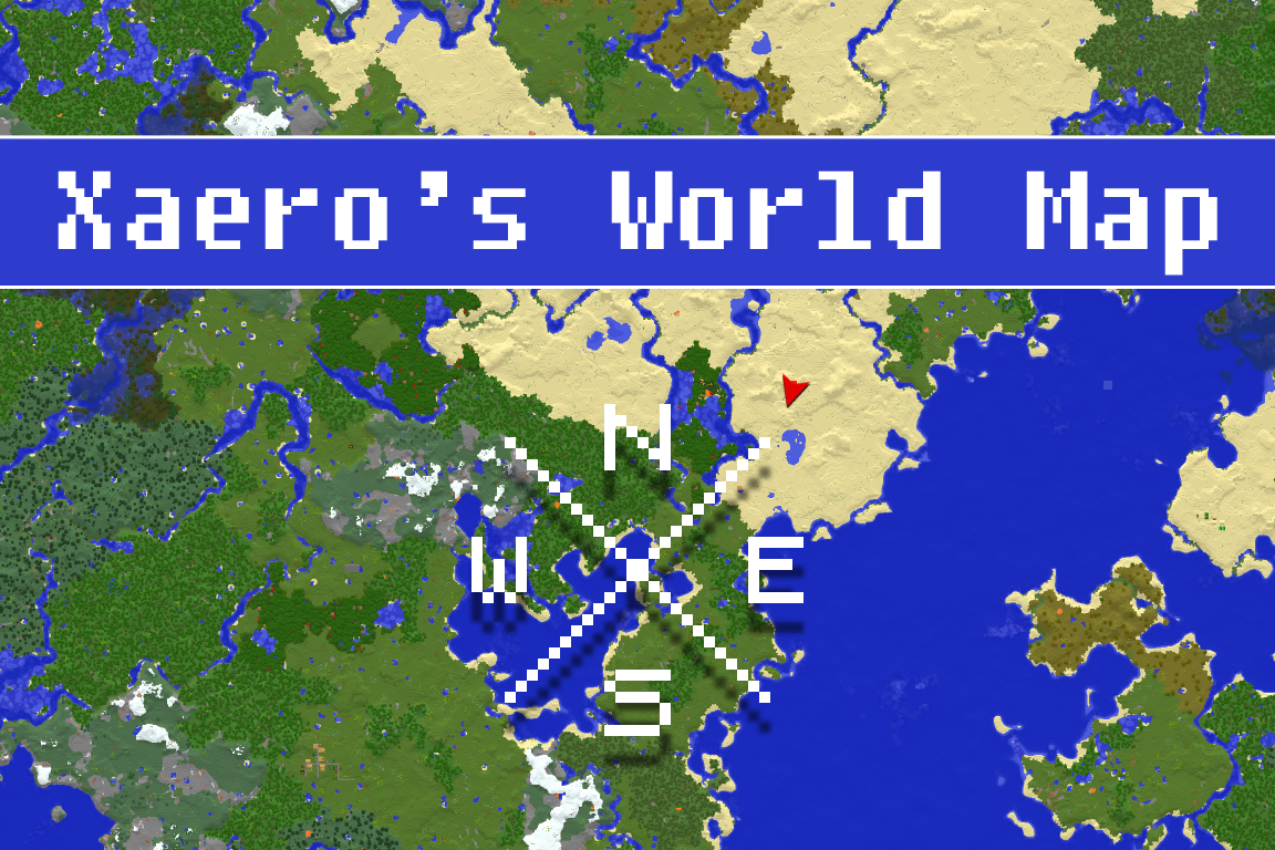 Xaeros world map mod para minecraft 11111021891710 zonacraft gumiabroncs Image collections