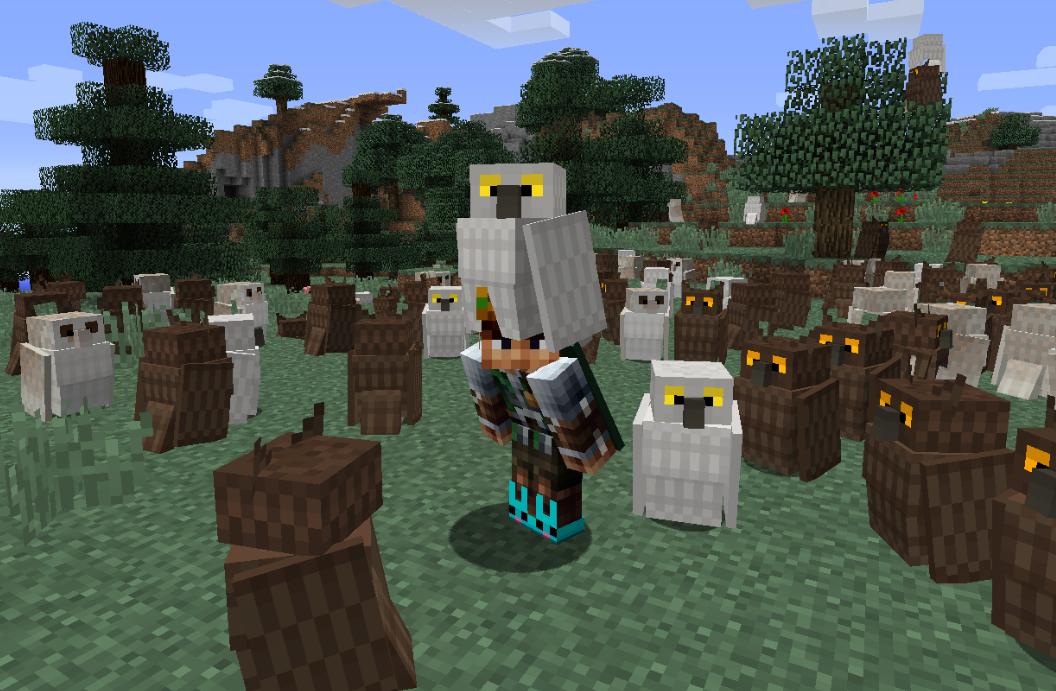 Exotic Birds Mod Para Minecraft 1.12.2/1.11.2/1.10.2/1.8.9 ...