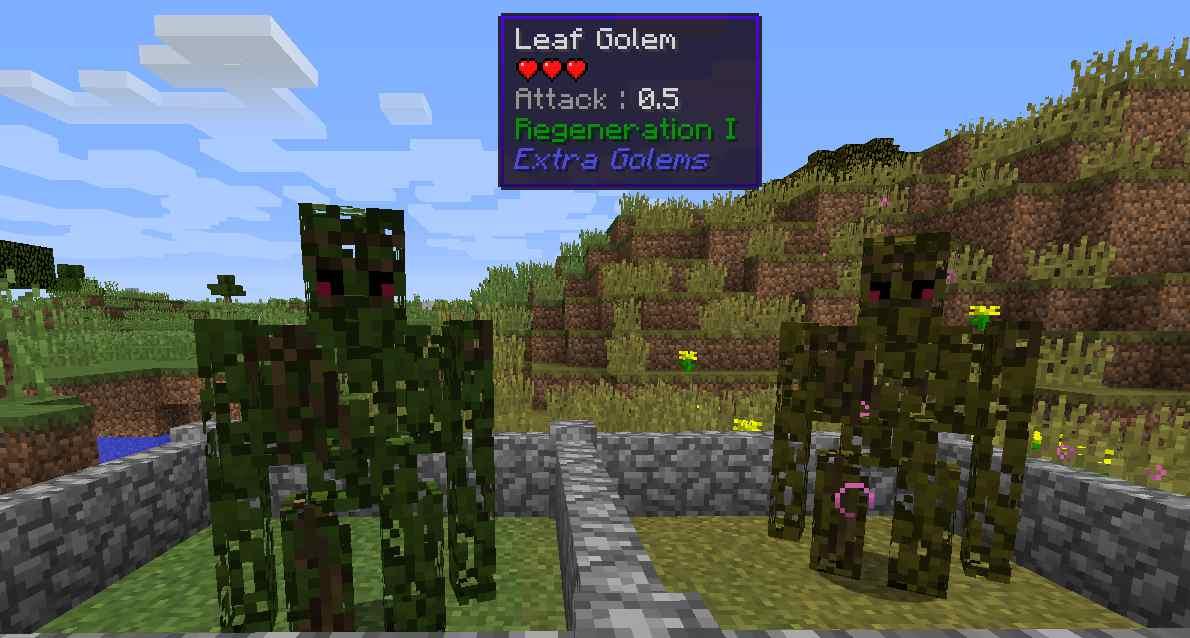 Extra-Golems-Mod-4