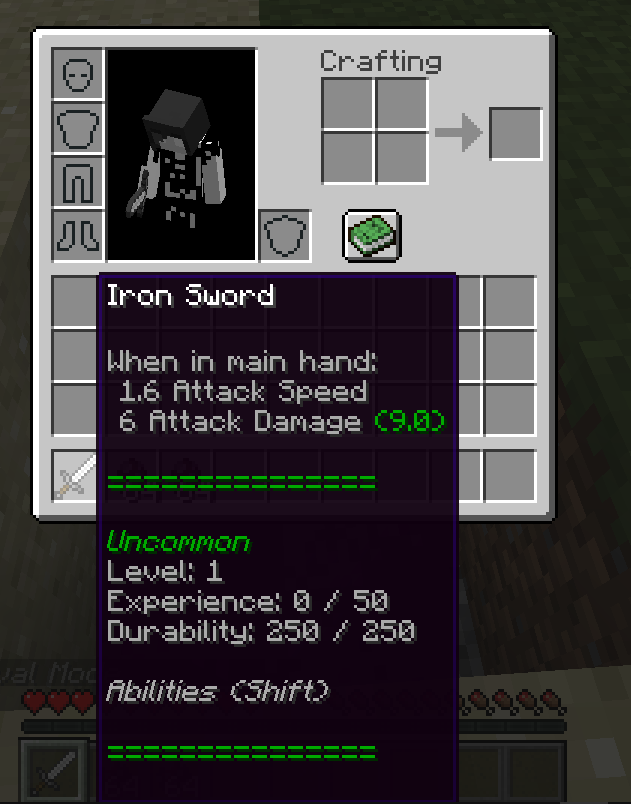 Weapon Levels Mod