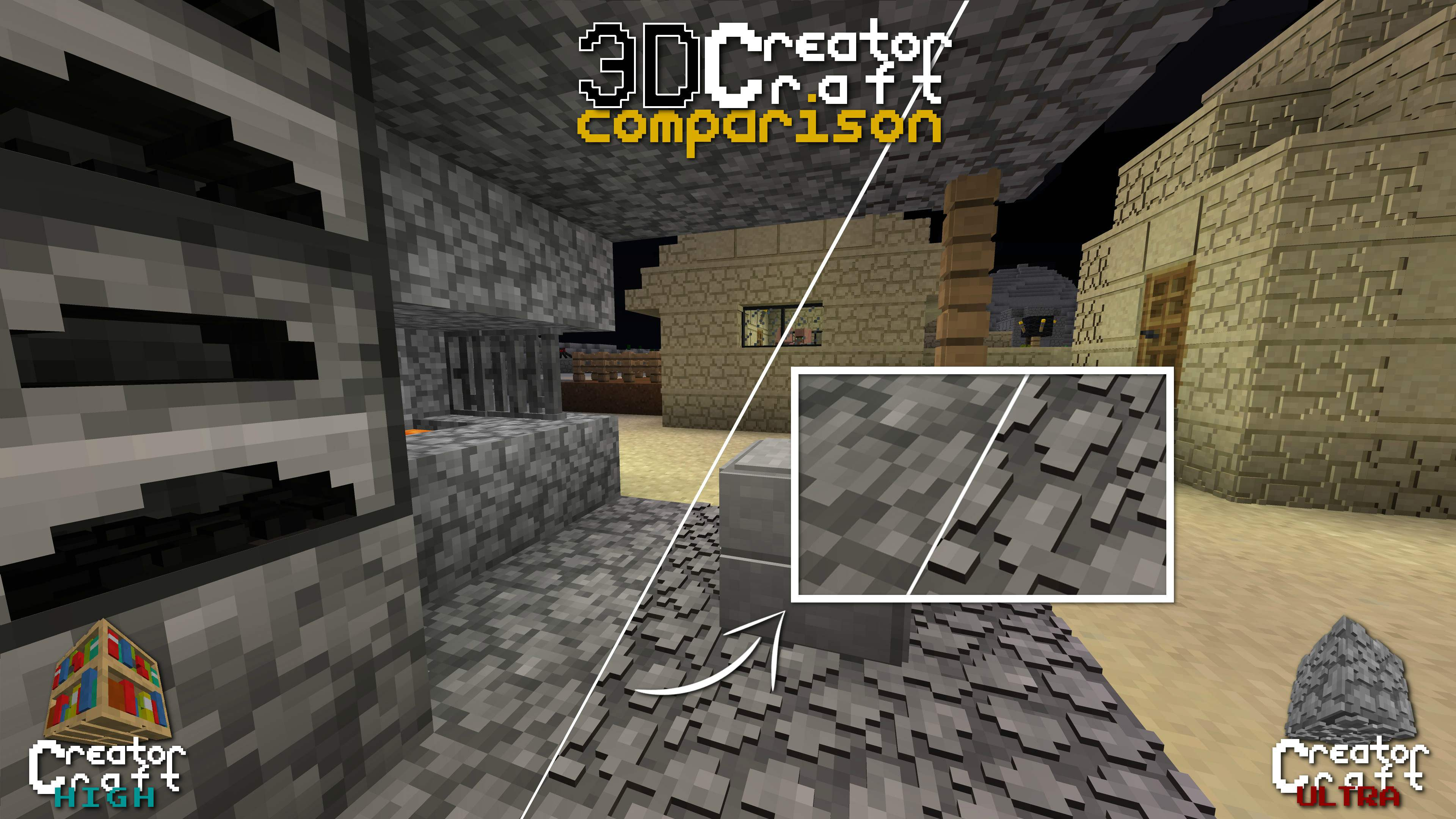 CreatorCraft3D Texture Pack