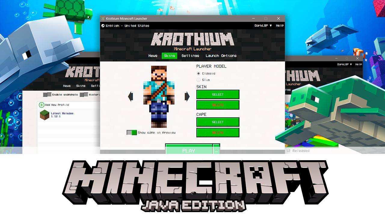Descargar Minecraft Launcher – Krothium Launcher | ZonaCraft